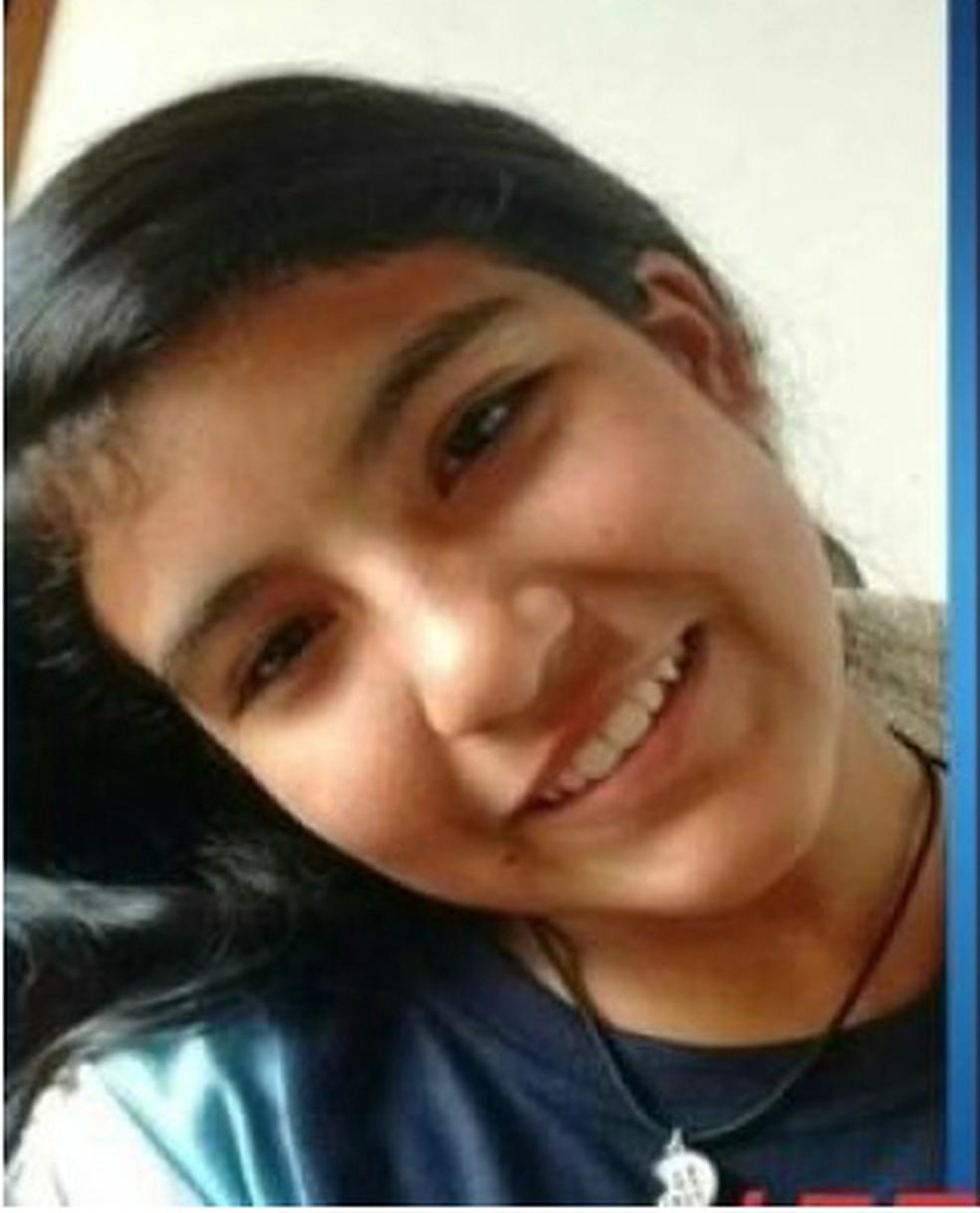 Eduarda Shigematsu, de 11 anos, foi encontrada morta em Rolândia no domingo (28) — Foto: Polícia Civil/Divulgação