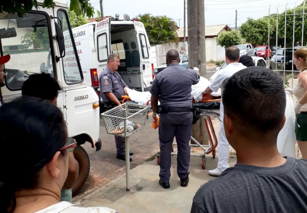 Vítima foi encontrada incosciente no chão da cozinha, chegou a ser socorrida, mas não resistiu — Foto: Arquivo pessoal