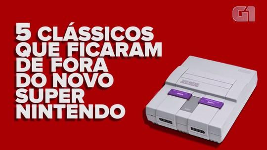 Novo Super Nintendo será vendido oficialmente no Brasil