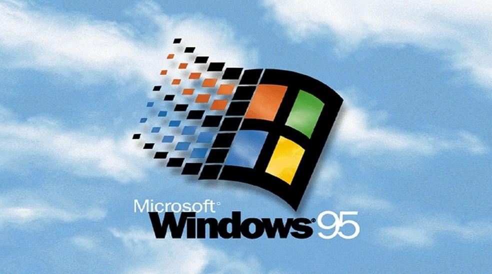 Windows 95 vendeu mais de 40 milhões de cópias e marcou a introdução da informática de toda uma geração — Foto: Divulgação/Microsoft