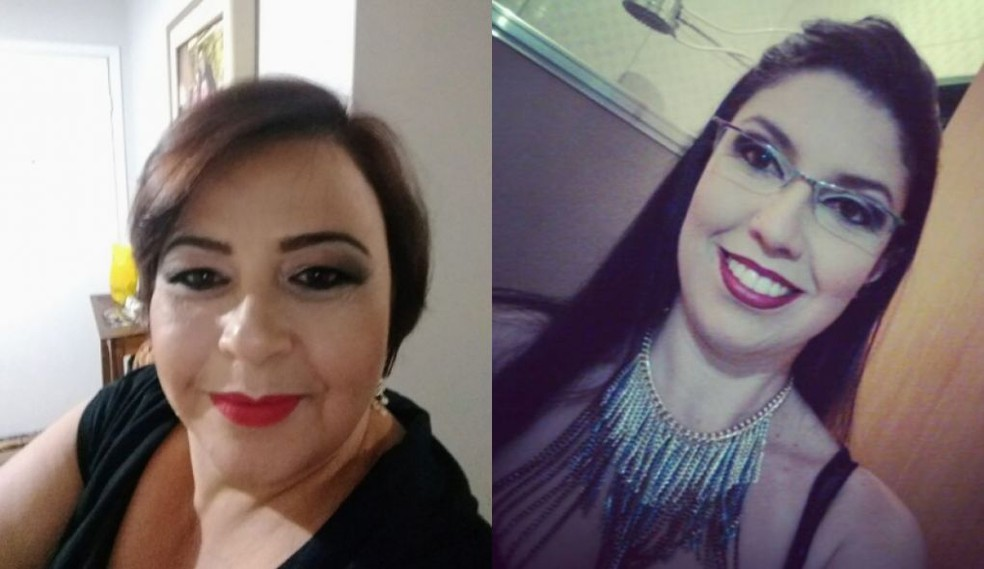Ângela da Silva Avezani e Karine Almeida morreram no acidente em Quintana — Foto: Arquivo pessoal