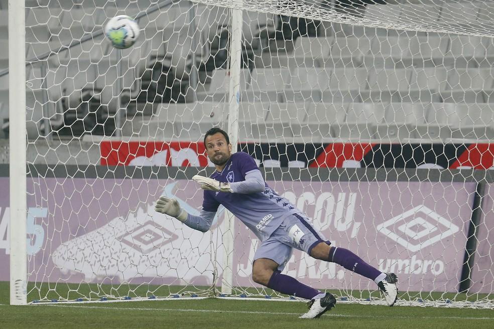 Diego Cavalieri, do Botafogo — Foto: Vitor Silva/Botafogo