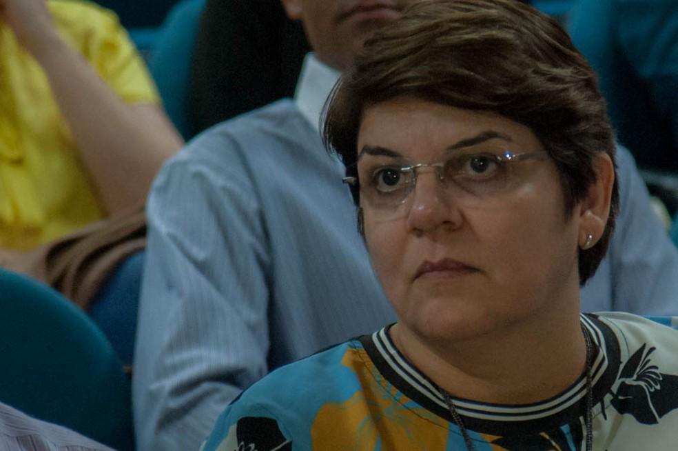 Myrian Serra, reitora da UFMT — Foto: Maria Anffe/Gcom-MT