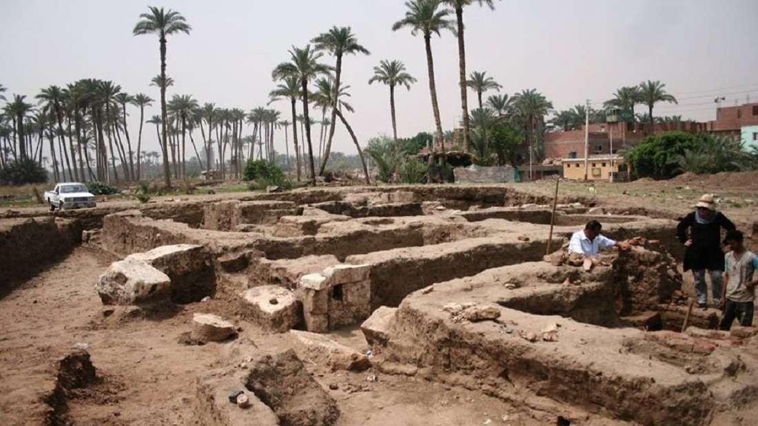 Cidade perdida do Egito (Foto: Reprodução/Facebook)