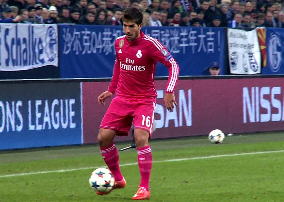 Lucas Silva foi negociado com o Real em 2015 e chegou a ser titular do time (Foto: Cassio Barco)