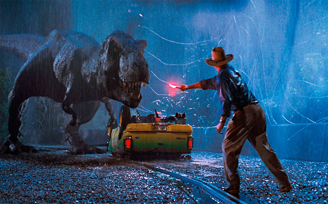 T-Rex; Jurassic Park (Foto: Reprodução)