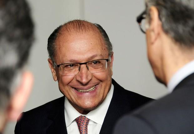 O governador do estado de São Paulo, Geraldo Alckmin (Foto: Sylvia Gosztonyi/Editora Globo)