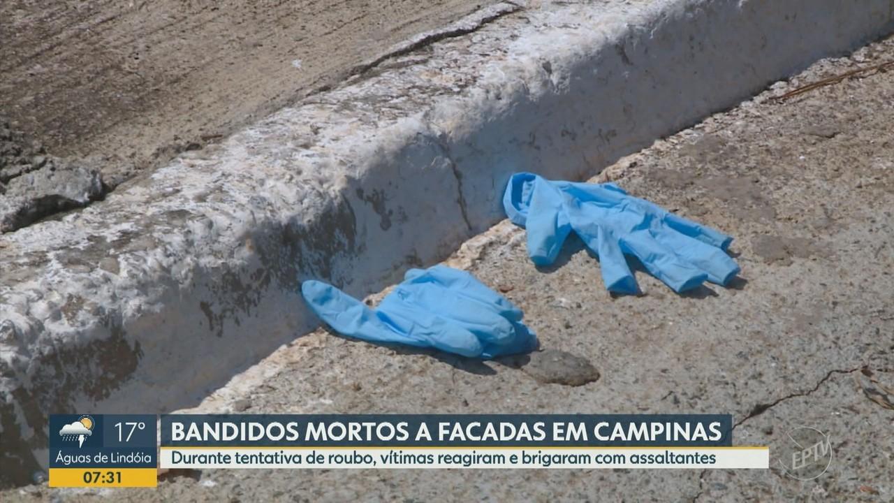 Vítimas de tentativa de roubo reagem e matam dois suspeitos a facadas em Campinas