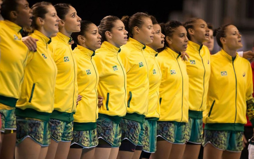 Seleção feminina venceu a Argentina em três finais de Pan — Foto: CBHb / Divulgação