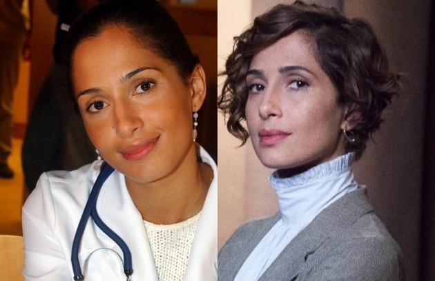 Camila Pitanga interpretou Luciana, médica residente que viveu uma paixão proibida com o primo, Diogo (Rodrigo Santoro). A atriz está no elenco da série 'Aruanas' (Foto: TV Globo)