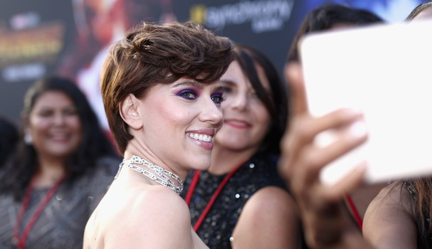 HOLLYWOOD, CA - APRIL 23:  Actor Scarlett Johansson attends the Los Angeles Global Premiere for Marvel Studios? Avengers: Infinity War on April 23, 2018 in Hollywood, California.  (Photo by Rich Polk/Getty Images for Disney) (Foto: Getty Images for Disney)