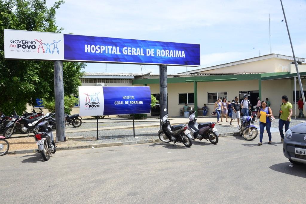 Servidor da Saúde infectado com coronavírus é internado na UTI do Hospital Geral de Roraima