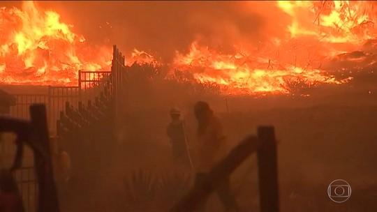 Incêndios deixam 31 mortos no estado americano da Califórnia