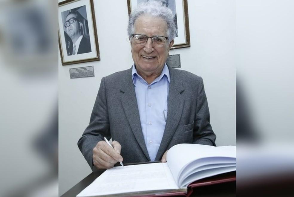 Presidente da Arprom, José Medina morre aos 87 anos em Rio Preto — Foto: Reprodução/Instagram