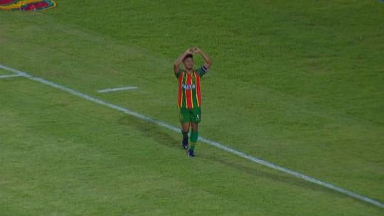 Os gols de Sampaio Corrêa 2 x 1 São Bento, pela Série B do Brasileirão