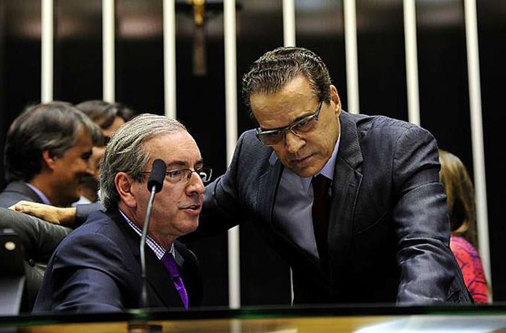 Justiça decidiu que os ex-presidentes da Câmara dos Deputados Eduardo Cunha e Henrique Alves continuam presos. (Foto: Luis Macedo / Câmara dos Deputados)