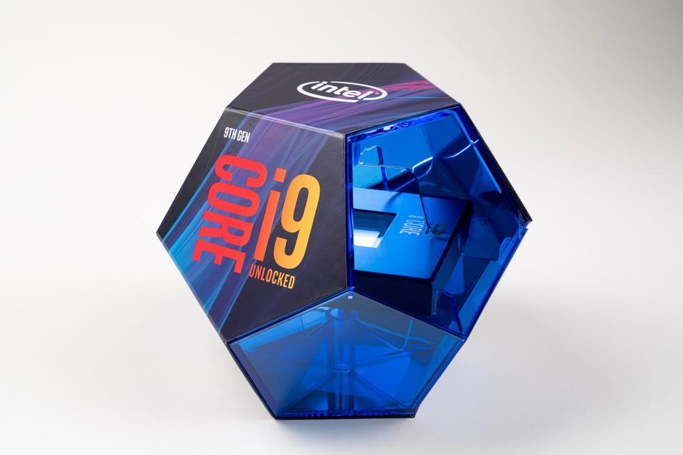 Core i9 9900K ainda é um dos melhores processadores gamer no mercado — Foto: Divulgação/Intel