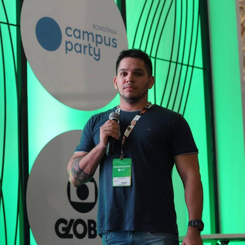 A palestra de Mario Fraga acontece no dia 15 de fevereiro — Foto: Reprodução/ Redes Sociais