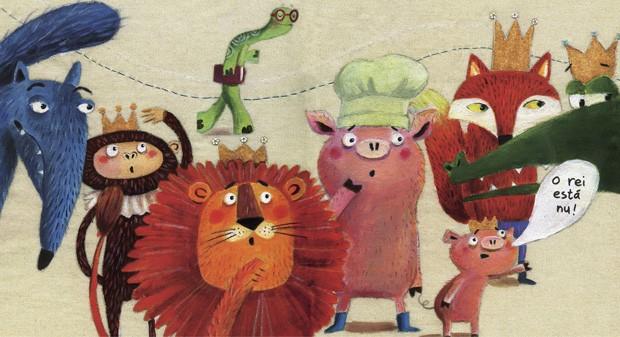 Texto de Tino Freitas e ilustrações de Ionit Zilberman, Editora do Brasil, R$ 56,20. A partir de 4 anos. (Foto: Reprodução)