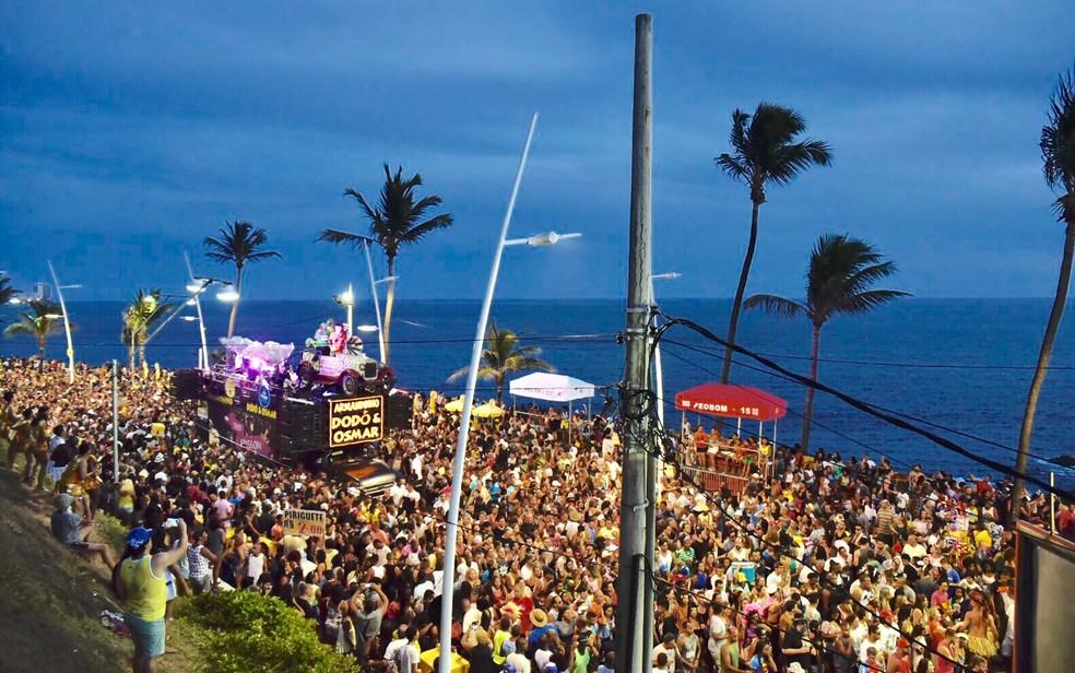 Festa ocorre no Circuito Orlando Tapajós, entre Ondina e Barra, no mesmo trajeto do Furdunço (Foto: Elias Dantas/Ag. Haack)