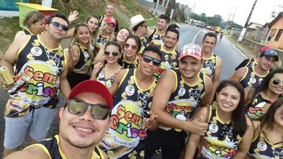 Bloco foi às ruas de Cruzeiro do Sul pela primeira vez ano passado (Foto: Raimundo Valeriano/arquivo pessoal)