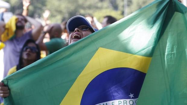 Torcida brasileira na Copa do Mundo 2018 (Foto: Tomaz Silva/Agência Brasil)