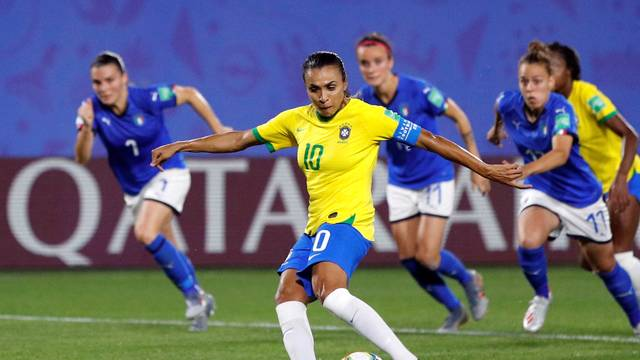 Marta Brasil x Itália Copa do Mundo Feminina
