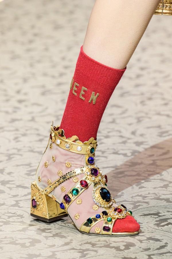 Dolce e Gabbana inverno 2019 (Foto: Imaxtree)