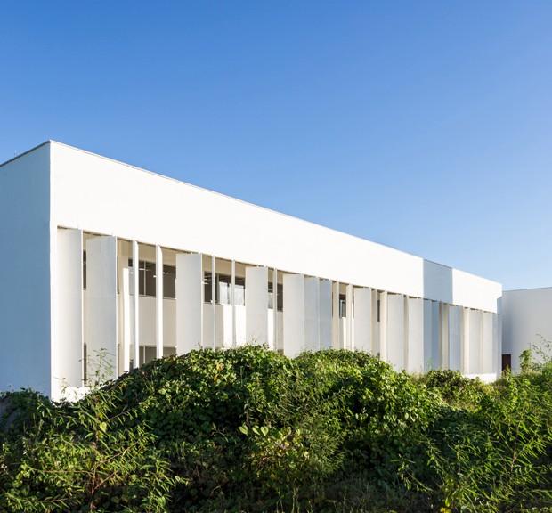 Universidade cearense tem design pensado para o clima árido (Foto: Divulgação)