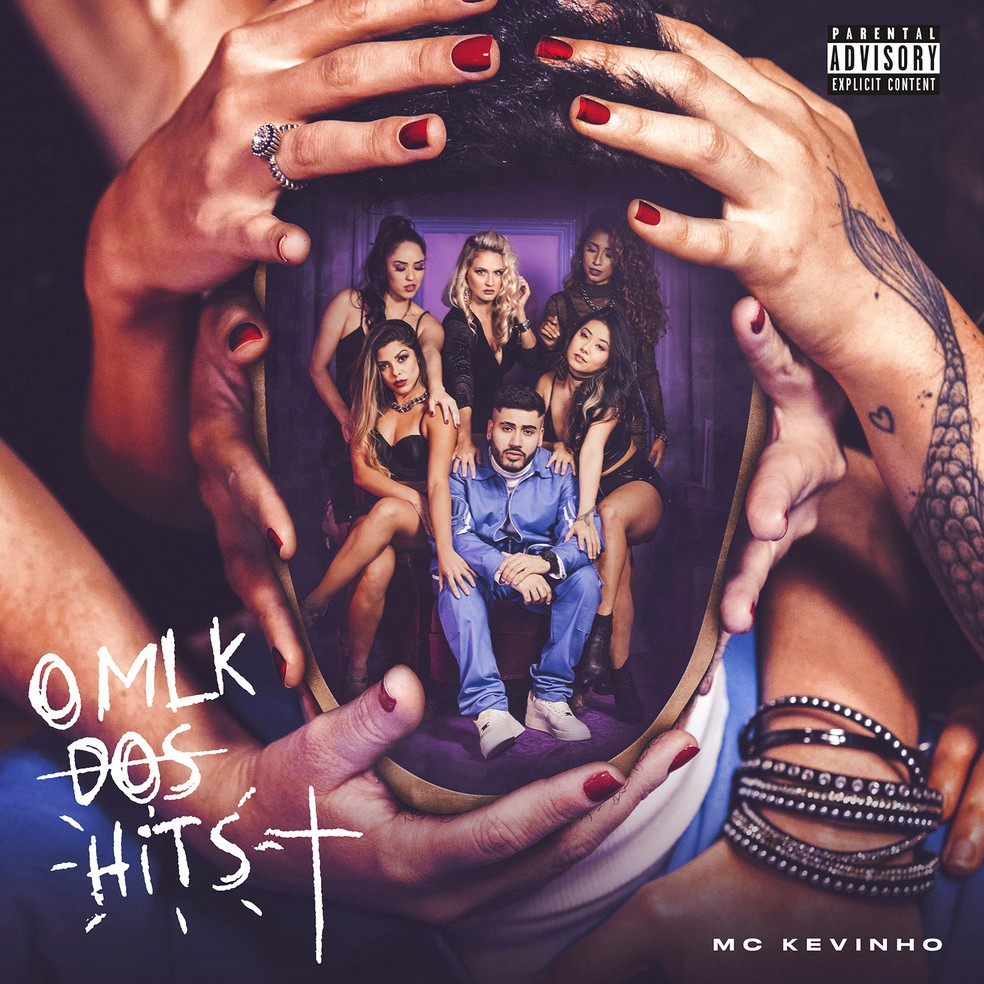 Capa do EP 'O MLK dos hits', de MC Kevinho — Foto: Iude Richele