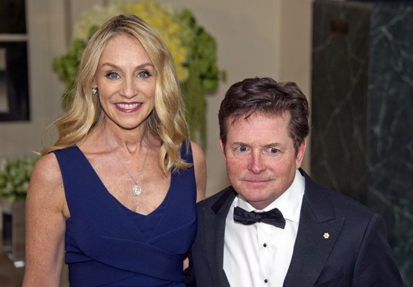 Michael J. Fox e Tracy Pollan (Foto: Getty Images)