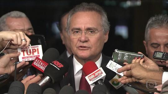 Presidente do Senado quer antecipar julgamento de impeachment de Dilma