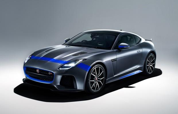Jaguar F-TYPE SVR ganha novas opções de personalização (Foto: Divulgação)