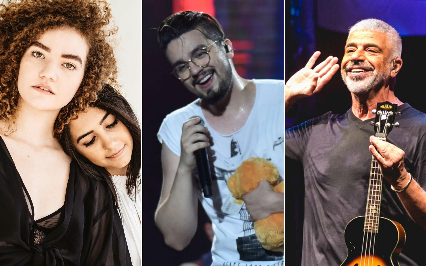 Anavitória, Luan Santana e Lulu Santos são anunciados como atrações do Festival de Inverno Bahia 2018