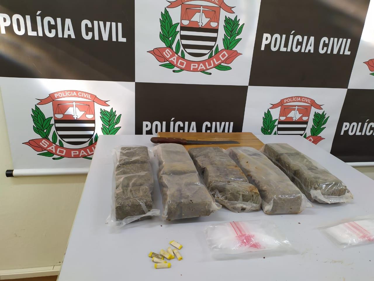 Homem é preso suspeito de tráfico de drogas na Vila Formosa, em Campinas - Notícias - Plantão Diário