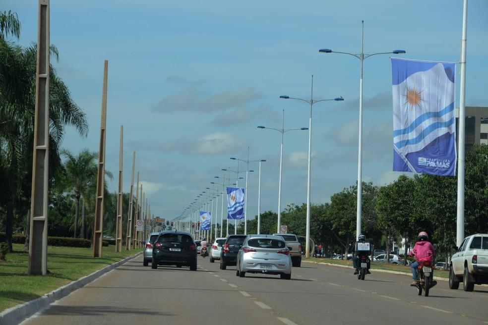 Quase metade dos furtos foram registrados em Palmas (Foto: Divulgação/Prefeitura de Palmas)