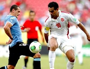 Nicolas Vallar Taiti jogo Uruguai (Foto: Reuters)