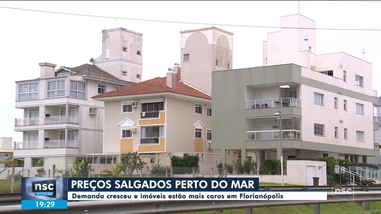 Procura por moradia em Florianópolis aumenta na pandemia