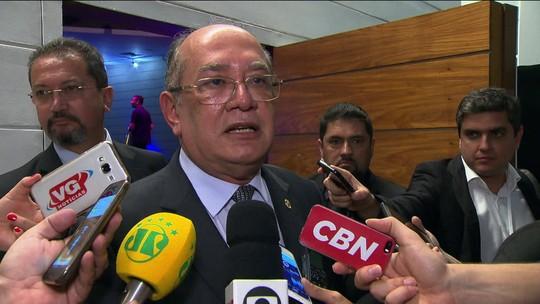 'Algo precisava ser feito', diz Gilmar Mendes sobre intervenção federal na segurança do Rio
