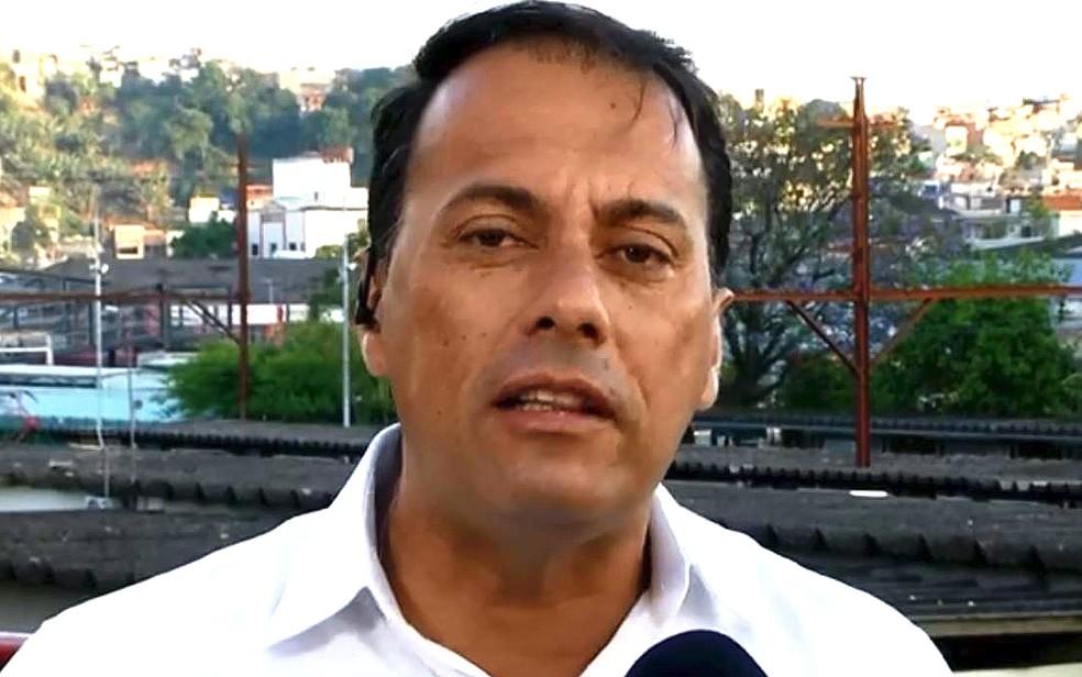 Átila Jacomussi (PSB) em entrevista à TV Globo — Foto: Reprodução/TV Globo