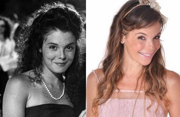 Em sua estreia na TV, Mylla Christie interpretou Jéssica. Recentemente, ela foi Verônica em 'As aventuras de Poliana', do SBT (Foto: TV Globo - Reprodução/Instagram)