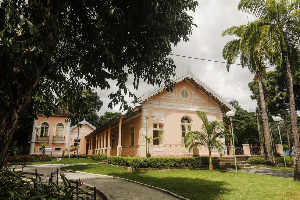 Sítio Trindade fica no bairro de Casa Amarela, na Zona Norte do Recife — Foto: Andréa Rêgo Barros/Arquivo PCR