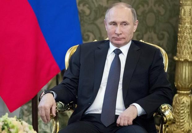 O presidente da Rússia, Vladimir Putin (Foto: Pavel Golovkin/EFE)