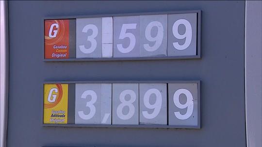Preço da gasolina nos postos tem 1ª queda em 14 semanas, diz ANP