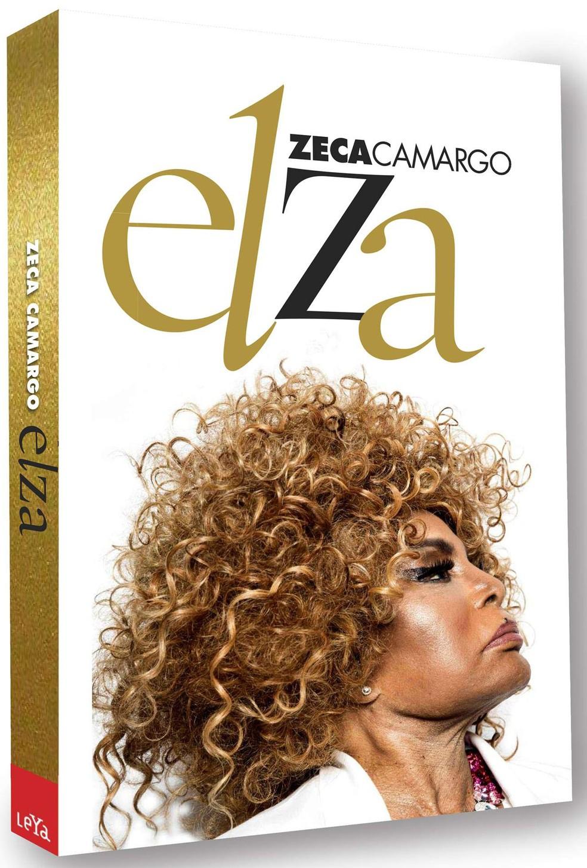 Capa do livro 'Elza', de Zeca Camargo — Foto: Arte gráfica de Victor Burton