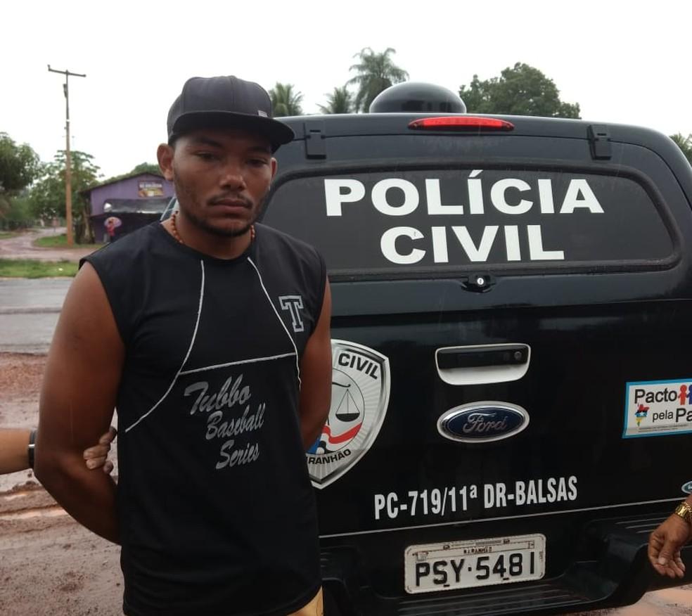 Alypio Noleto da Silva era um dos suspeitos de ter assassinado a idosa de 106 anos no Maranhão. — Foto: Divulgação/Polícia Civil