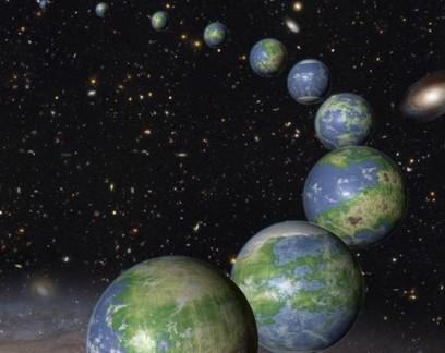 Via Láctea pode ter muitos planetas com oceanos e continentes como a Terra