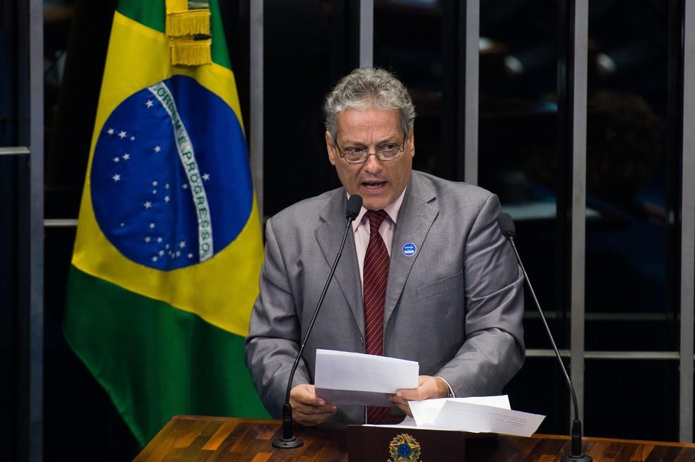 João Goulart Filho, pré-candidato do PPL à Presidência da República (Foto: Marcelo Camargo/Agência Brasil)