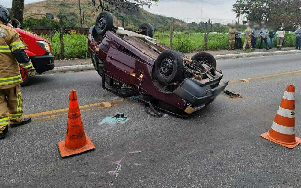 Trânsito foi afetado, mas já opera normalmente  — Foto: Reprodução/Redes Sociais