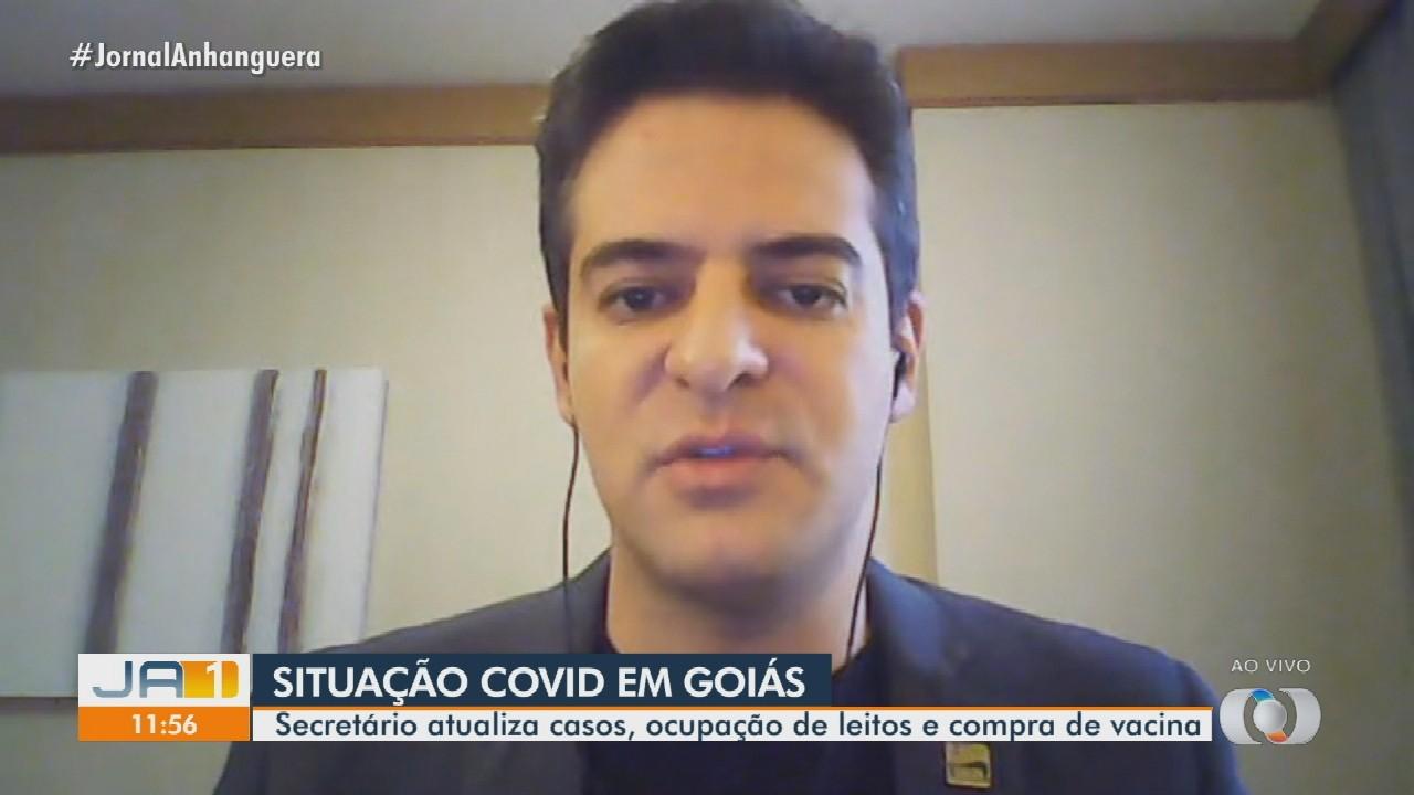Secretário de Saúde fala sobre abertura de novos leitos de UTI em Goiás